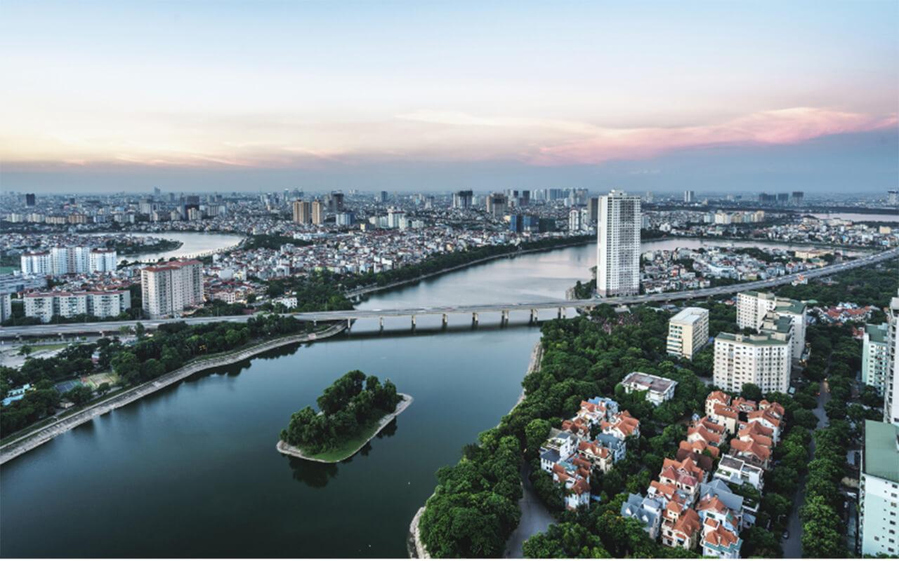 Hanoi Infrastucture. Image Source: Getty Image